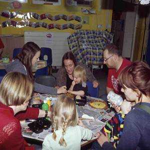 A photo from a Messy Church meeting